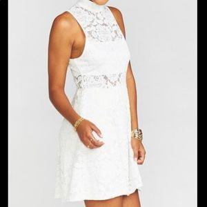 Show Me Your Mumu White Alexa Dress - Medium